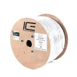 Ice Cable - 500' 12-4FX Speaker Cable (Spool)