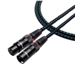 Tributaries - 4ABM - Series 4 Balanced Audio Mono Cable (Single)