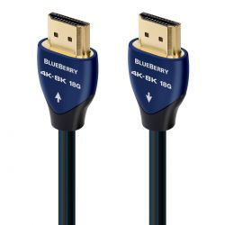 AudioQuest - BlueBerry - 18 Gbps 4K/8K HDMI Cable