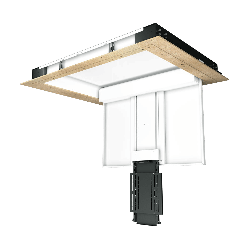 Future Automation - CHRT - TV Ceiling Hinge with Telescope Mechanism
