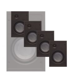 Phase Technology - CI-20XMP Master Pack - In-Wall Speaker (4 Units)