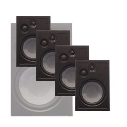 Phase Technology - CI-70XMP Master Pack - In-Wall Speaker (4 Units)