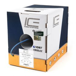 Ice Cable - RG-59 HDTV - 500' Coaxial Cable (Box)