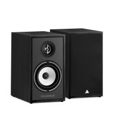 TRIANGLE - Borea BR02 - HiFi Bookshelf Speakers (Pair) - Black