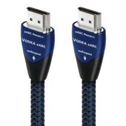AudioQuest - Vodka eARC - 48 Gbps eARC Focused HDMI Cable