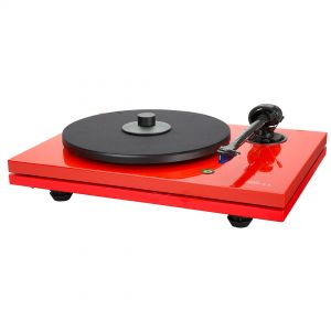 Music Hall - MMF-5.3LE - Ferrari Red Manual Turntable with 2M Blue Cart