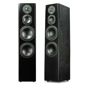 SVS - Prime Tower (Pair) - Black Oak