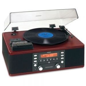 TEAC - LP-R550USB - CD Recorder with Cassette and Turntable