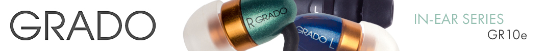 Grado - In Ear - GR10e Headphones
