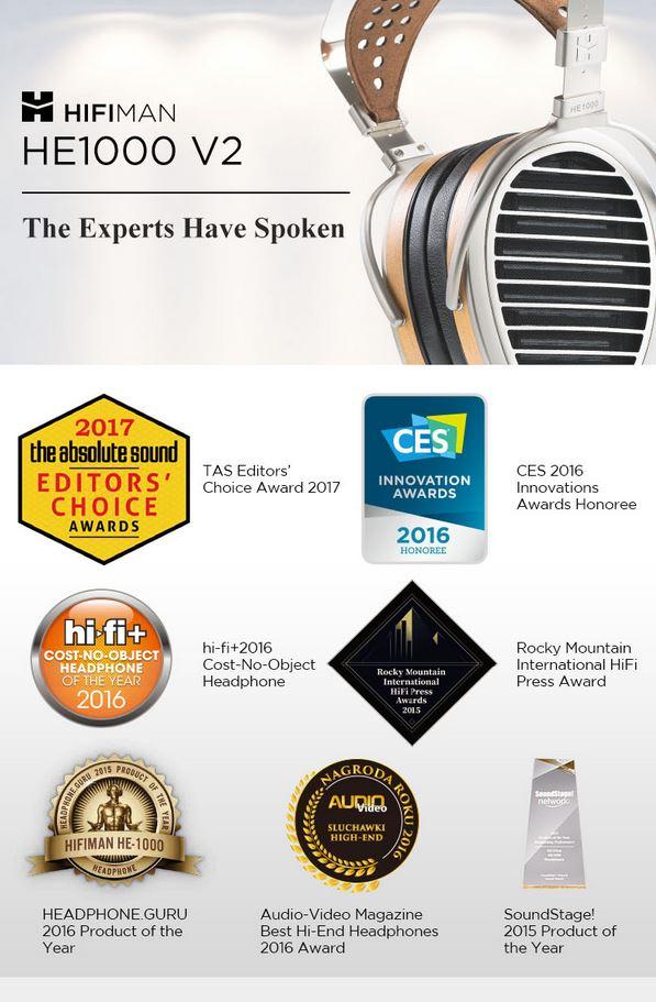 HIFIMAN - HE1000 v2 - Planar Magnetic Headphone
