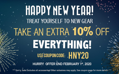 Happy New Year! Get 10% off Most Items - Use code: HNY20 at checkout!