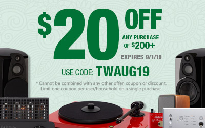 Get $20 off most purchases of $200 or more! Use coupon code: TWAUG19 at checkout!