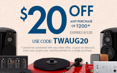 Get $20 off most purchases of $200 or more! Use coupon code: TWAUG20 at checkout!