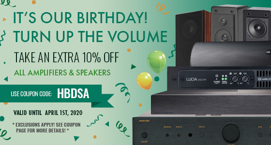 Take 10% off Most Electronics! Use coupon code: HBDSA at checkout!