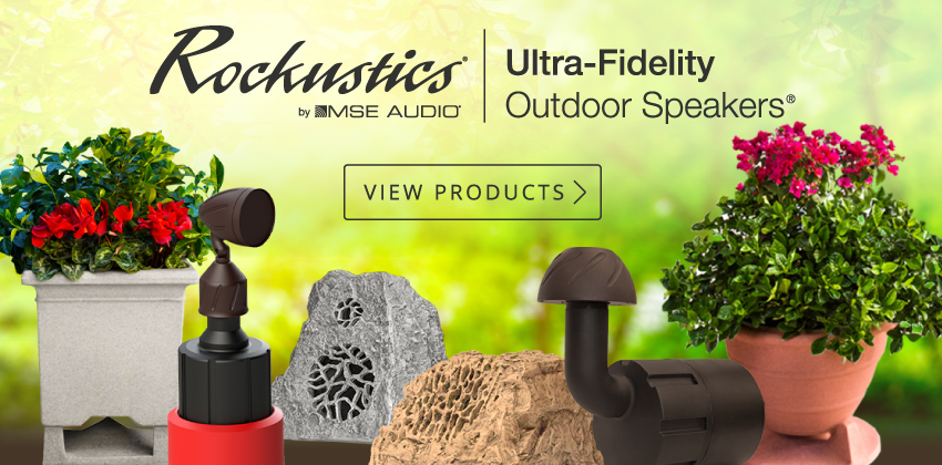 Rockustics Outdoor Speakers