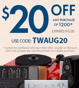 Take $20 off all purchases of $200 or more! Use code: TWAUG20 on checkout.