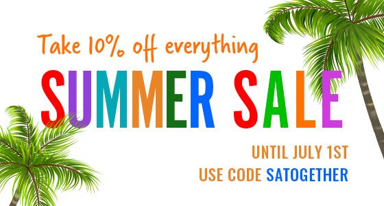 Take 10% off Everything - Summer Sale Event