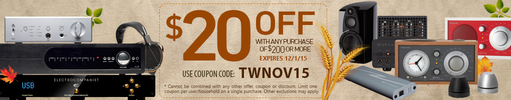 $20 off any Purchase of $200 or more!