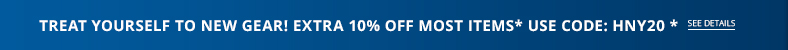 TAKE AN EXTRA 10% OFF MOST ITEMS* Use code HNY20!