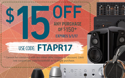 Get $15 off any purchase of $150 or more! Use coupon code FTAPR17 at checkout!