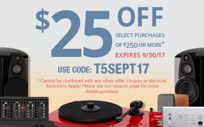 Get $25 off any purchase of $250 or more! Use coupon code T5SEPT17 at checkout!