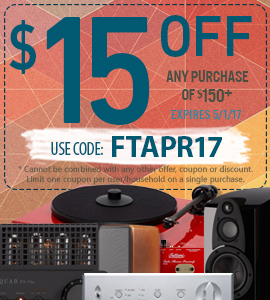 Get $15 on any orders of $150 or more! Use coupon code: FTAPR17 at checkout!