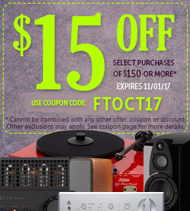 Get $15 on any orders of $150 or more! Use coupon code: FTOCT17 at checkout!