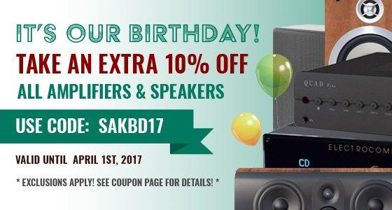 Take 10% off Everything! Use coupon code: SAKBD17 at checkout!