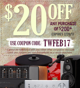 Get $20 on any orders of $200 or more! Use coupon code: TWFEB17 at checkout!
