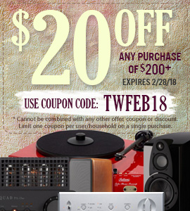 Get $20 on any orders of $200 or more! Use coupon code: TWFEB18 at checkout!