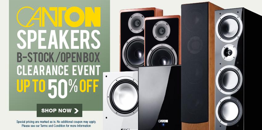 Special Canton Speaker Sale!